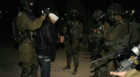 Serbu Tepi Barat dan Al-Quds, Israel Tangkap 17 Warga Palestina