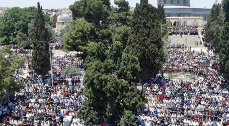 45 Ribu Muslimin Shalat Jumat di Al-Aqsa