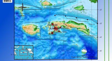 Gempa Berkekuatan 6.8 Magnitudo Guncang Ambon