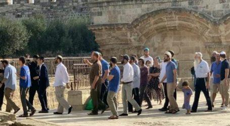 200 Yahudi Serbu Al-Aqsa Jelang Perayaan Talmud