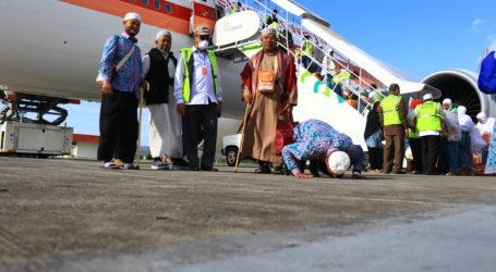 Jemaah Haji Aceh Kloter 3 Tiba Jumat Dinihari