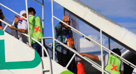 Jamaah Haji Aceh Kloter Pertama Tiba di Tanah Air