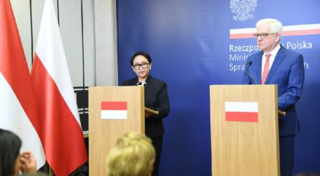 Menlu Polandia Sebut IndonesiaMitra Terpenting Negaranya di ASEAN