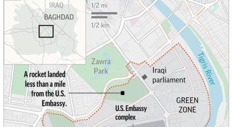 Roket Serang Kedutaan AS di Baghdad