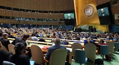 Di PBB Rouhani Minta AS Tinggalkan Timur Tengah
