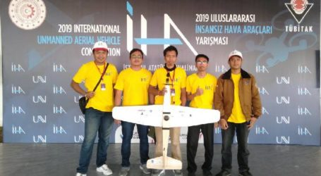 Tim Mahasiswa ITS Raih Juara Dunia Robotikan di Turki