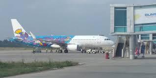 Kabut Asap Ganggu Penerbangan di Bandara Rembele