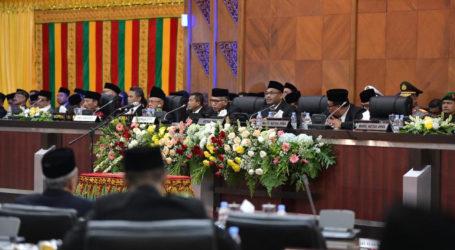 81 Anggota DPRA Baru Dilantik