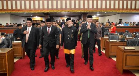 Dahlan Jamaluddin Pimpinan Sementara DPRA Periode 2019-2024