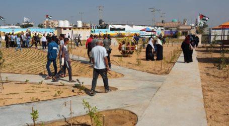 Di Perbatasan Gaza Dibuka Taman Bermain Anak-Anak
