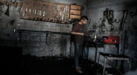 Sektor Swasta Gaza Beroperasi Hanya dengan Kapasitas 15 Persen