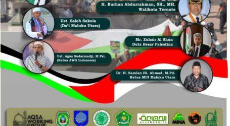 Tabligh Akbar dan Long March Cinta Al-Aqsa  Digelar di Ternate