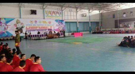 """Ponpes Al-Fatah Ikuti """"Pencak Silat Lampung Championship 4"""""""