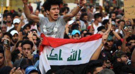 Pengunjuk Rasa Irak Masuki Zona Hijau