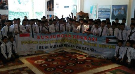 Yayasan Himmatul Aliyah Depok Adakan Kunjungan ke Kedubes Palestina