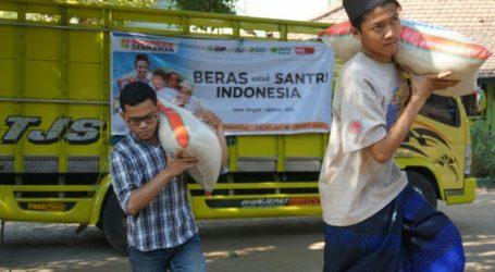 ACT Distribusikan Dua Ton Beras untuk Santri Kurang Mampu di Jateng