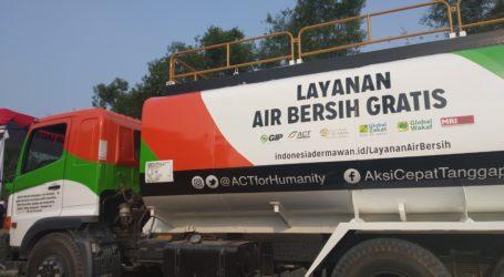 Water Truck 2.0 Bantu Atasi Kesulitan Air Warga