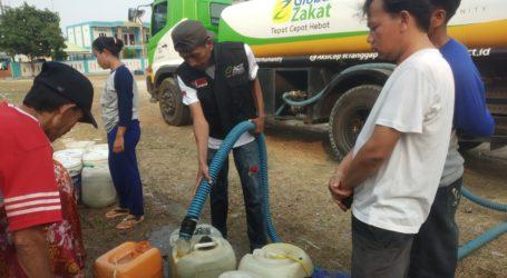 ACT Salurkan Bantuan Air Bersih ke Desa Terdampak Kekeringan