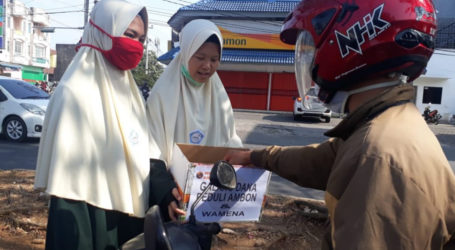 Ukhuwah Al-Fatah Rescue Lampung Galang Dana Peduli Ambon dan Wamena