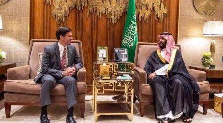 Menhan AS ke Saudi Bahas Kerja Sama Strategis