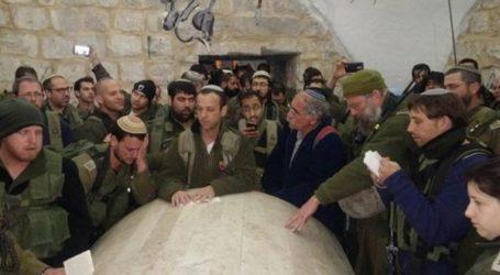 1.000 Yahudi Serbu Makam Nabi Yusuf di Nablus