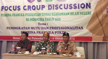 UIN Rafa Palembang Jadi Tuan Rumah Perkemahan Wirakarya 2020