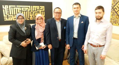 Temui LAZ Rusia, Baznas Ajak Gabung ke World Zakat Forum