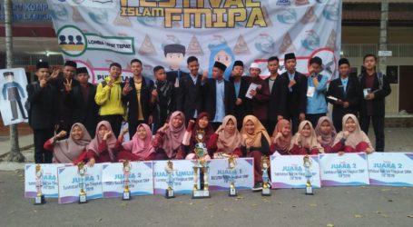 Al-Fatah Juara Umum Festival Islam MIPA UNILA Se-Lampung