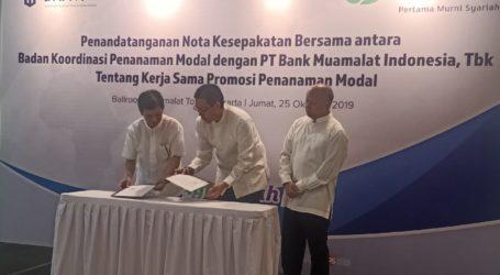 Bank Muamalat Kerja Sama dengan BKPM Incar Investor Asing