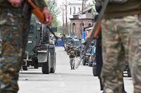 Bakutembak di Kashmir, Empat Sipil Tewas
