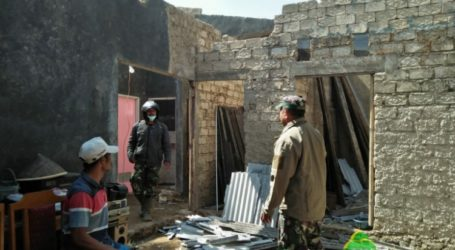 Angin Kencang Terjang Brebes dan Tegal, Puluhan Rumah Rusak