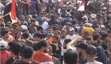 Empat Orang Terbunuh dalam Protes Antipemerintah di Baghdad