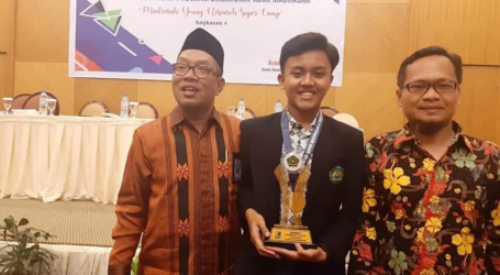 Muhammad Iqbal Juara Madrasah Young Researcher Supercamp 2019