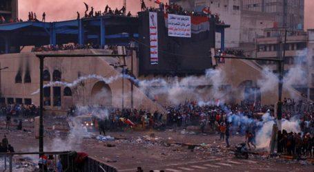 Protes Irak berlanjut, Korban Tewas 100 Orang