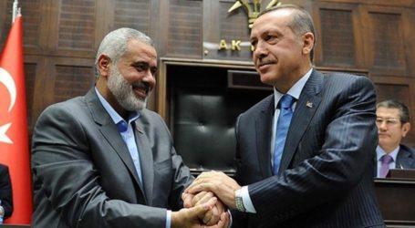 Hamas Apresiasi Presiden Erdogan Dukung Palestina