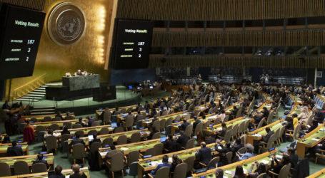 Kanada Dukung Resolusi PBB tentang Negara Palestina, Israel Kecewa
