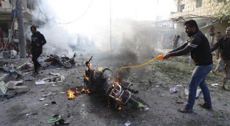 Bom Mobil di Kota Perbatasan Suriah-Turki Tewaskan 13 Warga Sipil