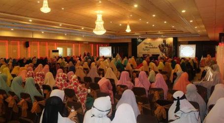 Silaturahmi Akbar Muslimah Wahdah Islamiyah di Makassar Bela Al-Quds