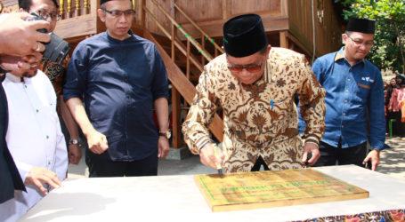 DD Resmikan Masjid Panggung Cordofa