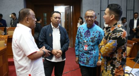 DPR dan Kemenpora Bahas Persiapan Sea Games, PON