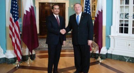 Menlu Qatar Kunjungi AS Bahas Krisis Teluk