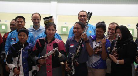 Menpora Kunjungi Pelatnas Menembak, Optimis Tiga Emas di SEA Games 2019