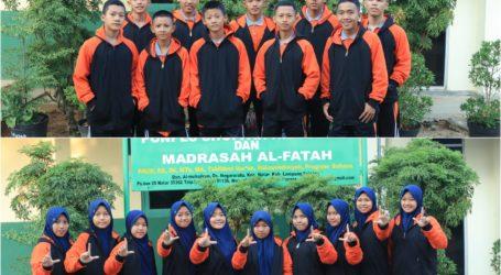 20 Atlet Pencak Silat Al-Fatah Targetkan Bawa Lampung Juara Umum Pospenas