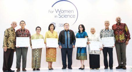 Empat Perempuan Peneliti Sains Raih Penghargaan L'Oréal-UNESCO FWIS