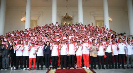Presiden Harap Indonesia Raih Peringkat Dua Besar di SEA Games Filipina