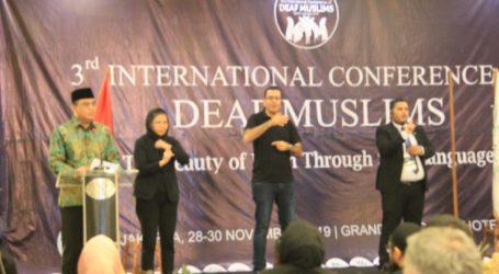Indonesia Tuan Rumah 'International Conference of Deaf Muslims 2019'