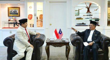 Kunjungan Luar Negeri Perdana, Menhan RI Kunjungi Menhan Malaysia