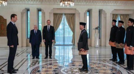 Presiden Bashar Assad Terima Surat Kepercayaan dari Dubes RI