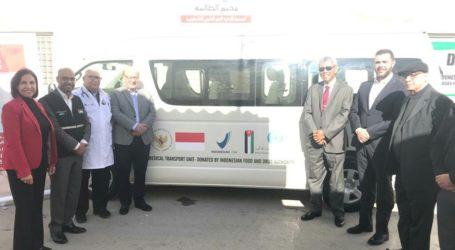 Indonesia Bantu Kendaraan Medis Bagi Pengungsi Palestina di Yordania