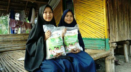 BERISI Bantu Santri Terdampak Gempa di Lombok Barat